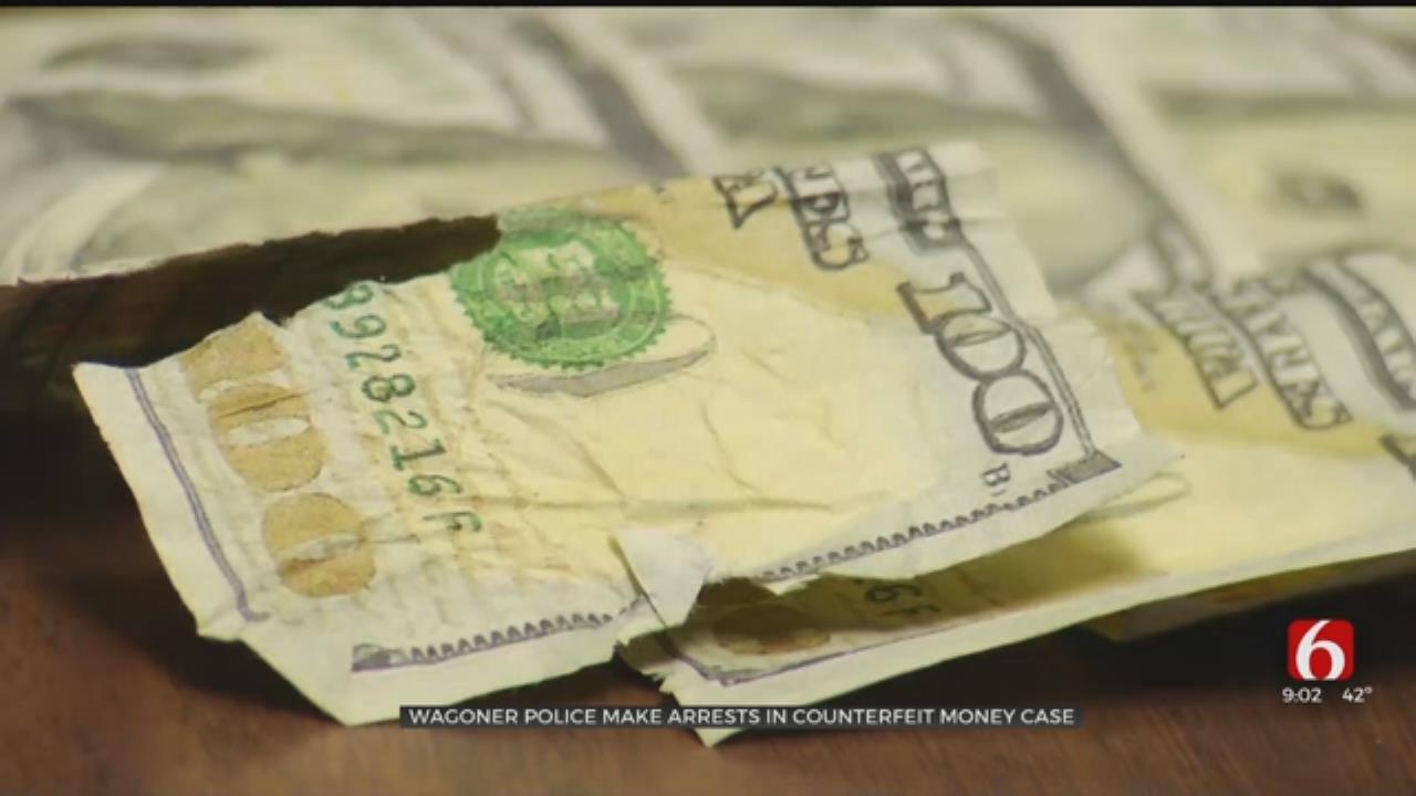 Wagoner Police Arrest 3 After Finding Fake Cash And Meth in Hotel