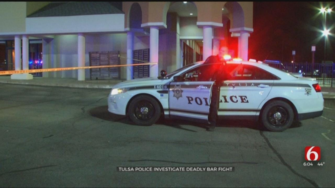 1 Dead, 1 In Jail After Bar Fight Leads To Shooting In Tulsa
