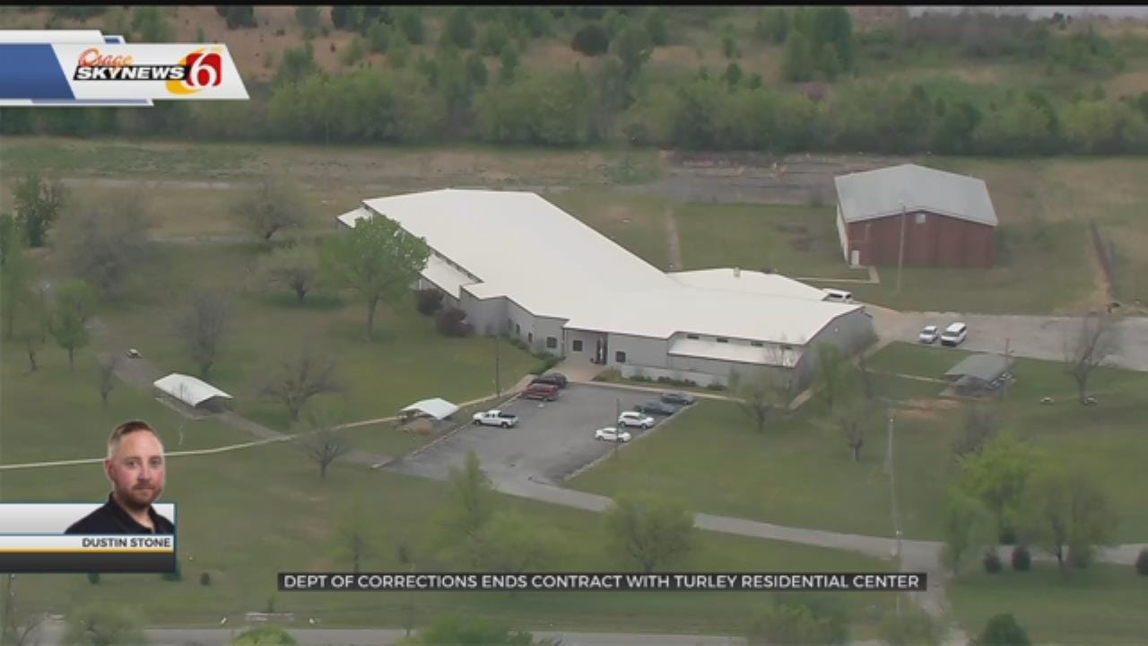 Department Of Corrections Ends Contract With Turley Residential Center