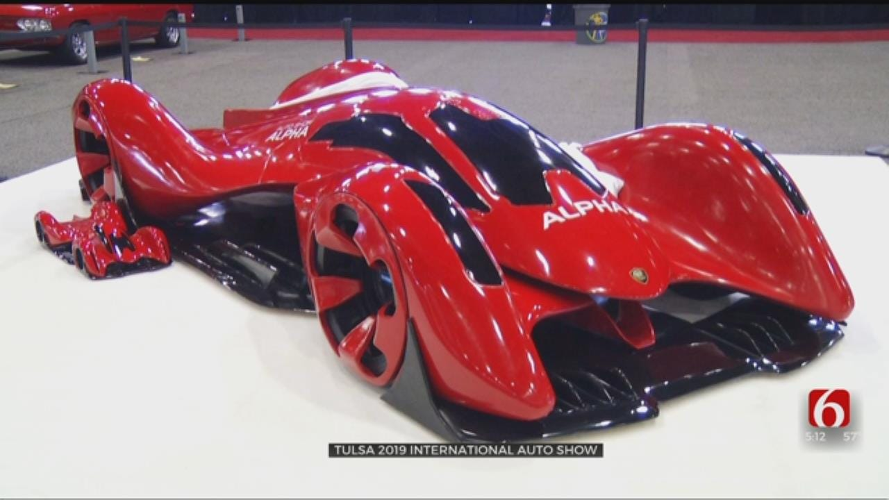 Tulsa International Auto Show Underway At River Spirit Expo