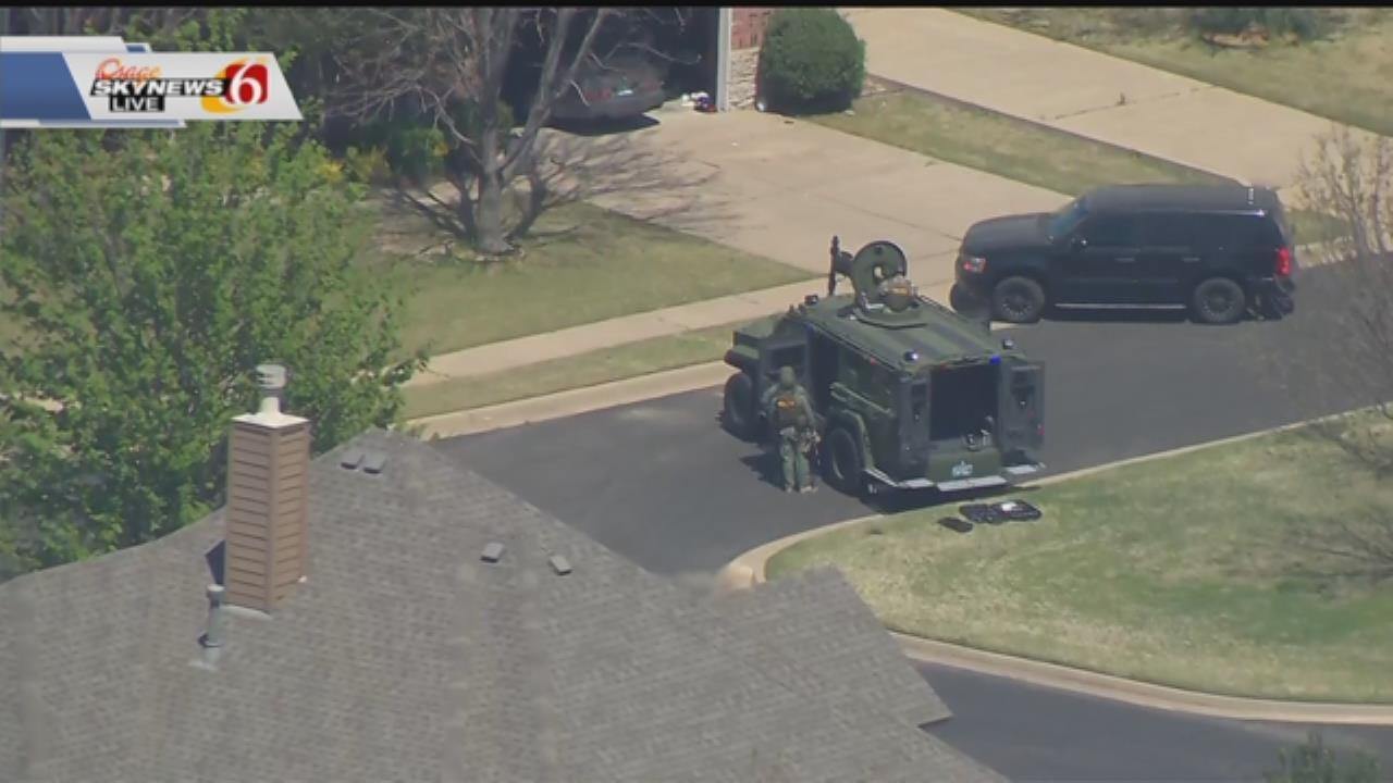 Police Arrest Tulsa Shooting Suspect After Standoff In BA