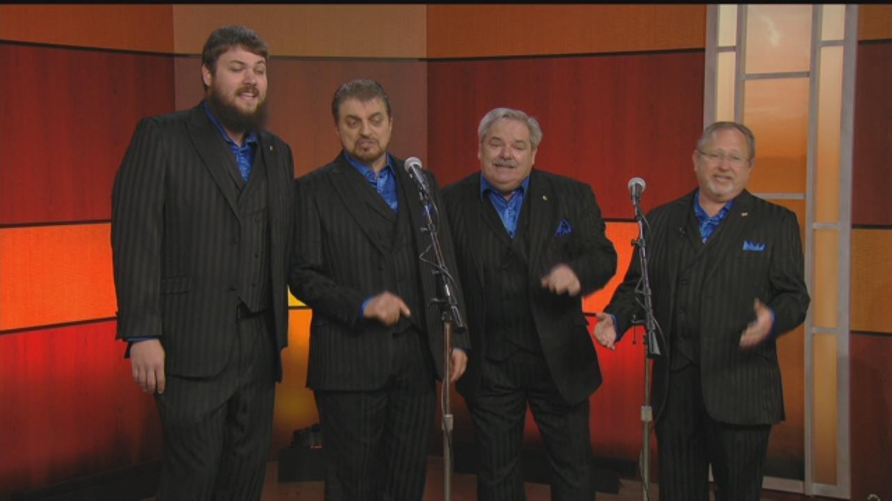 WATCH: Sound Decision Celebrates National Barbershop Quartet Day