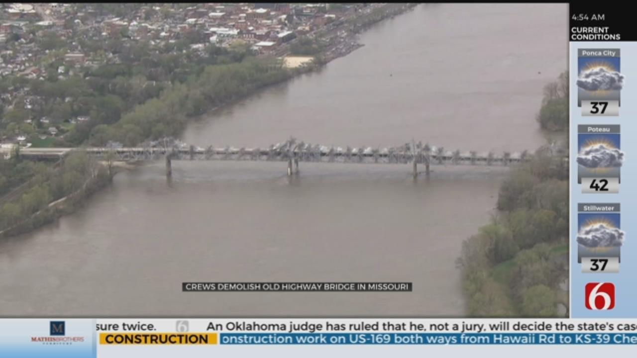 Missouri Bridge Built In 1936 Demolished