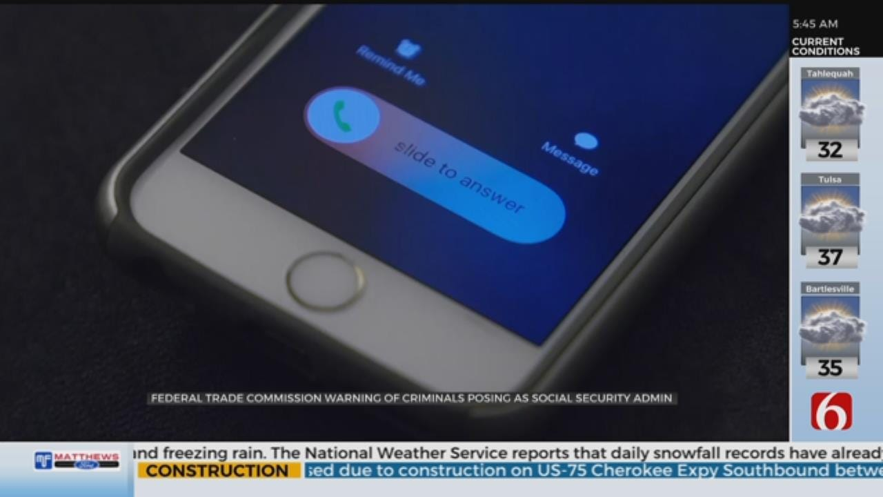 FTC Warns Of Social Security Phone Scam