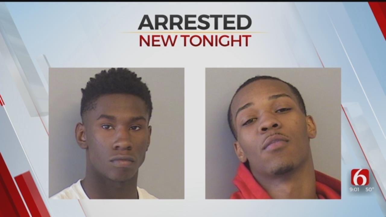 Tulsa Police Arrest Two Suspected House Burglars In Midtown