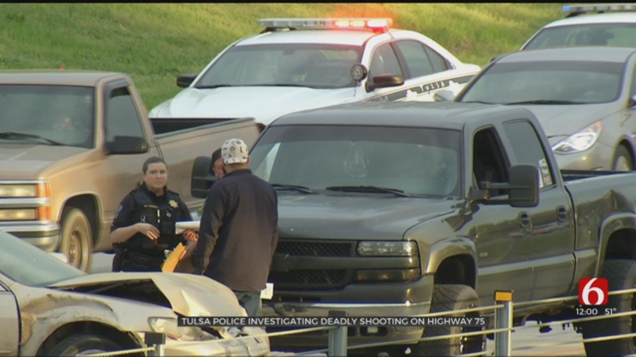 Tulsa Police Identify Woman Killed In Shooting On Highway 75