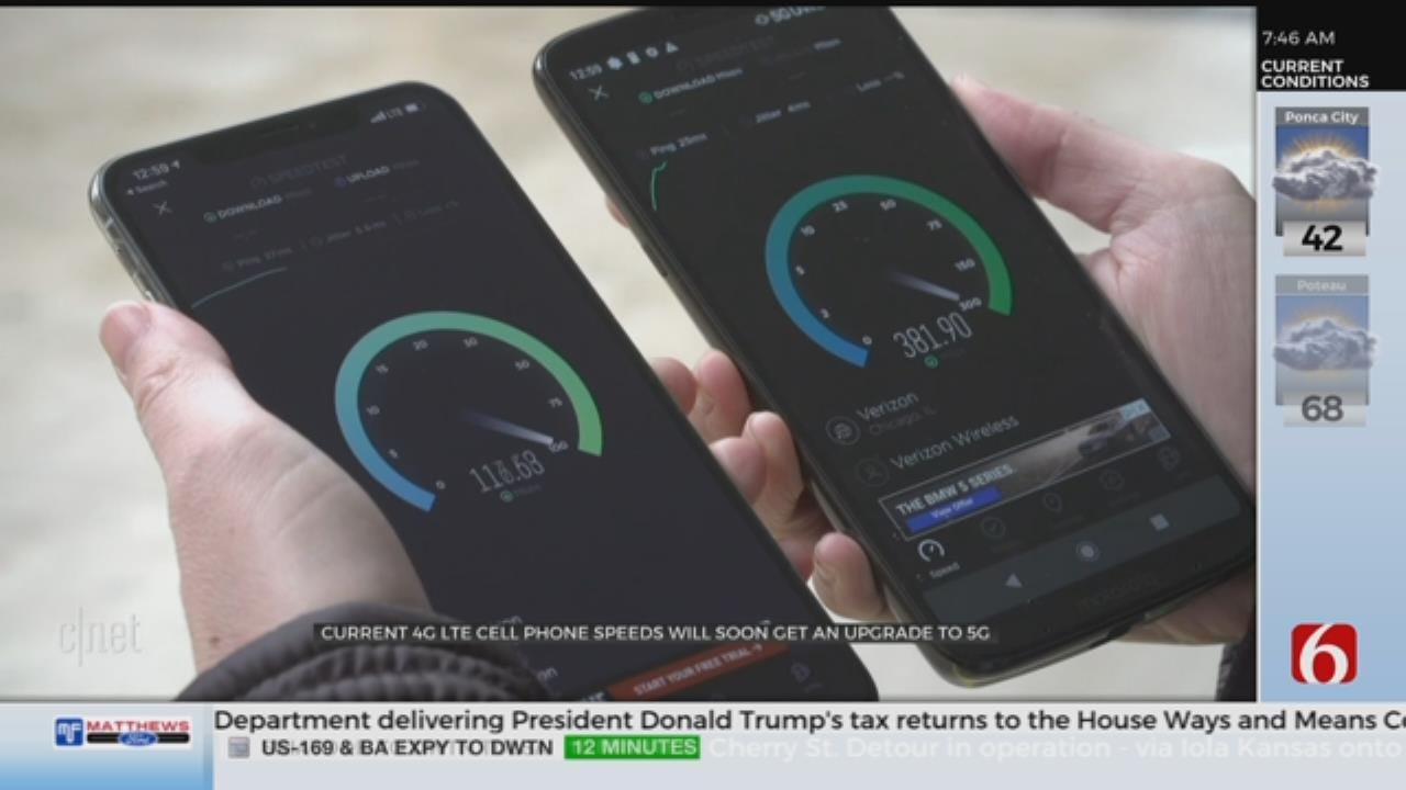 5G Speed Coming To Smartphones