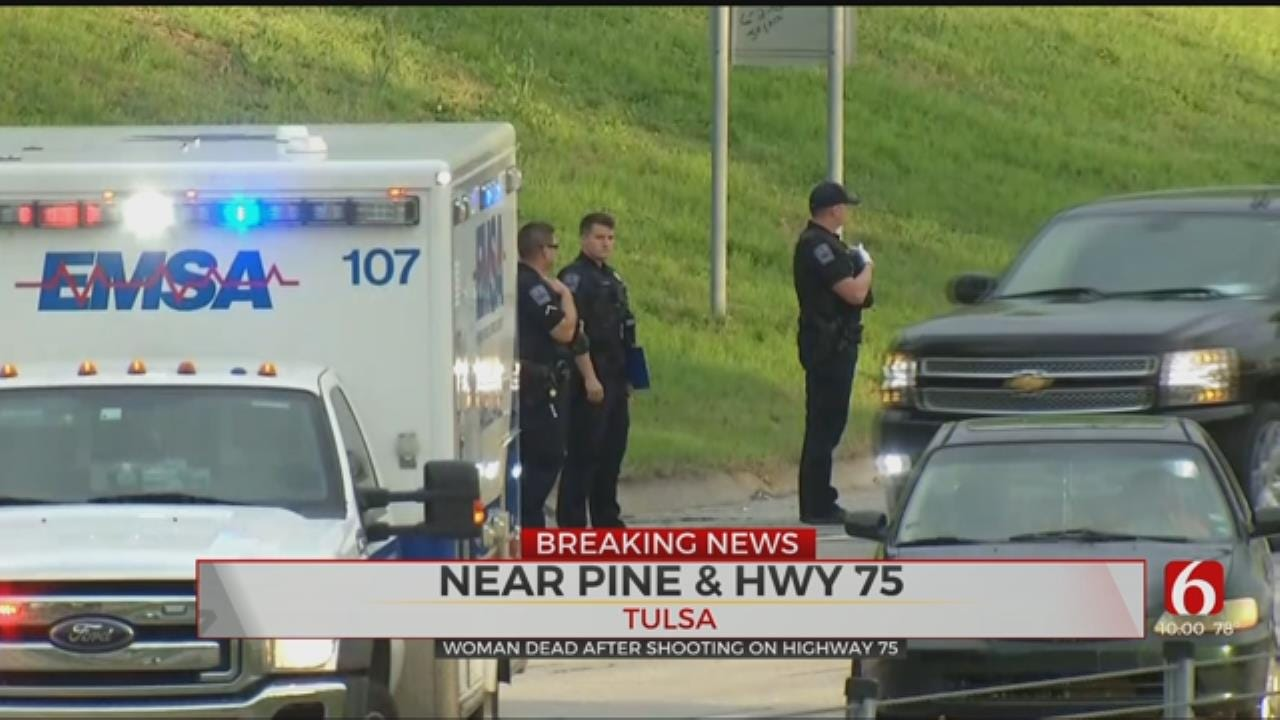 Tulsa PD: 1 Woman Dead Following Shooting On HWY 75