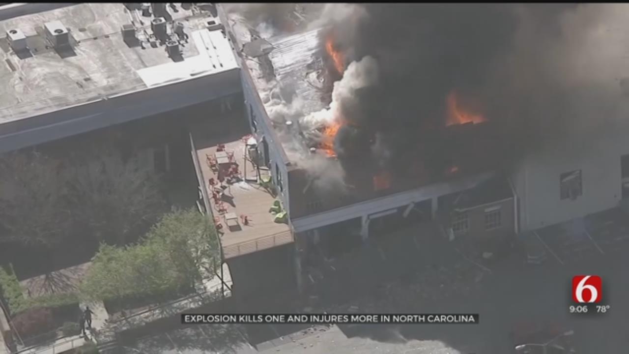 Officials: 1 Dead, 17 Hurt In North Carolina Gas Explosion