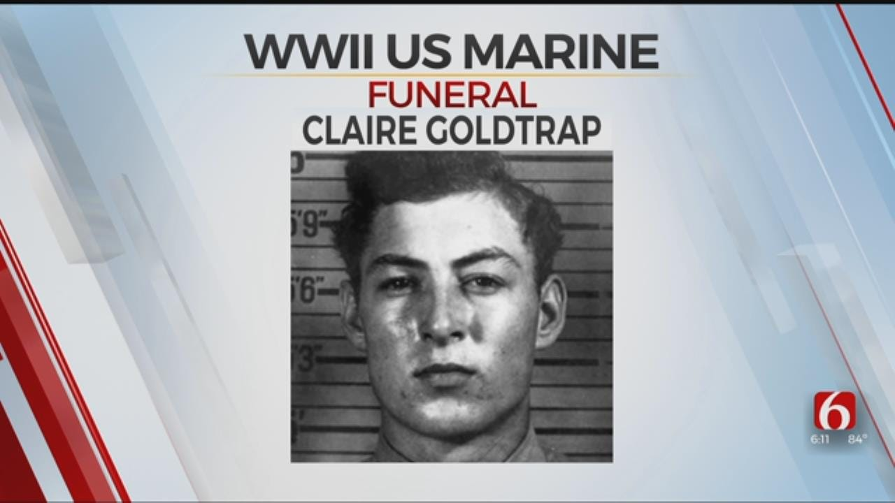 Remains Of WWII Marine Laid To Rest In Oklahoma