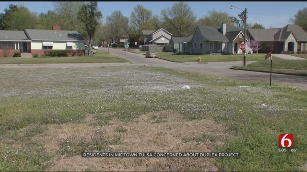 Midtown Tulsa Citizens Concerned About Plans For Duplex Development