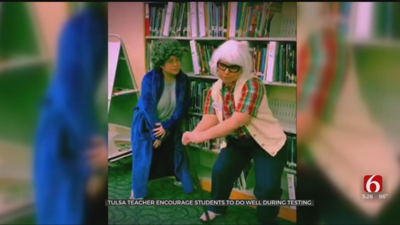 WATCH: Tulsa Teachers Make Parody Video To Gear Up For State Testing