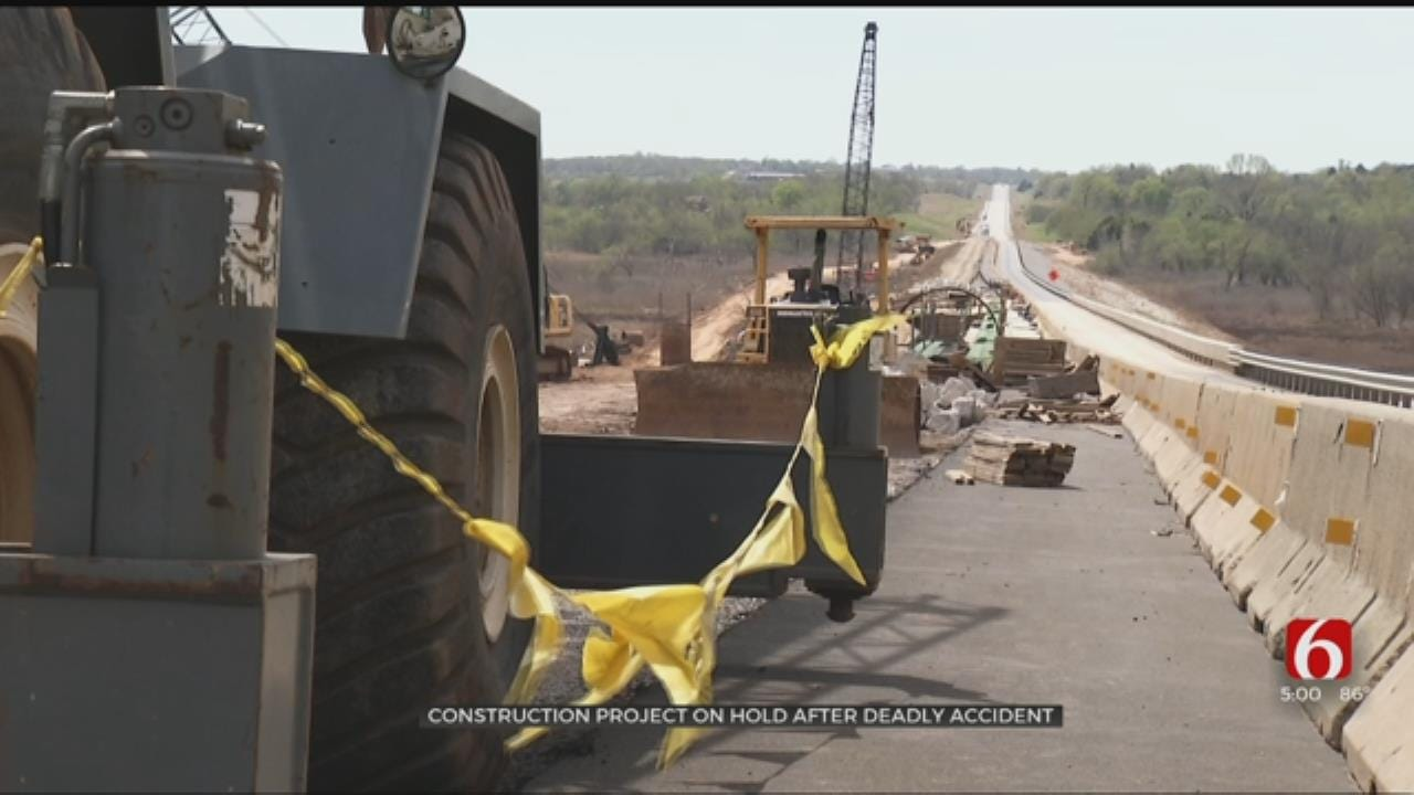 Creek County Construction Project On Hold After Deadly Accident