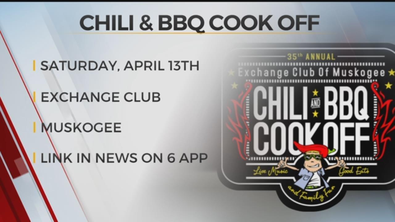 Muskogee Chili & BBQ Cook Off, Azalea Parade Happening Saturday