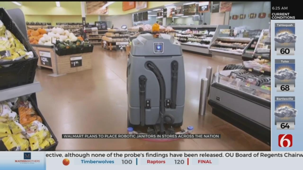 Walmart Doubles Down On Robots To Shift Labor Costs: 'We're Going Big'