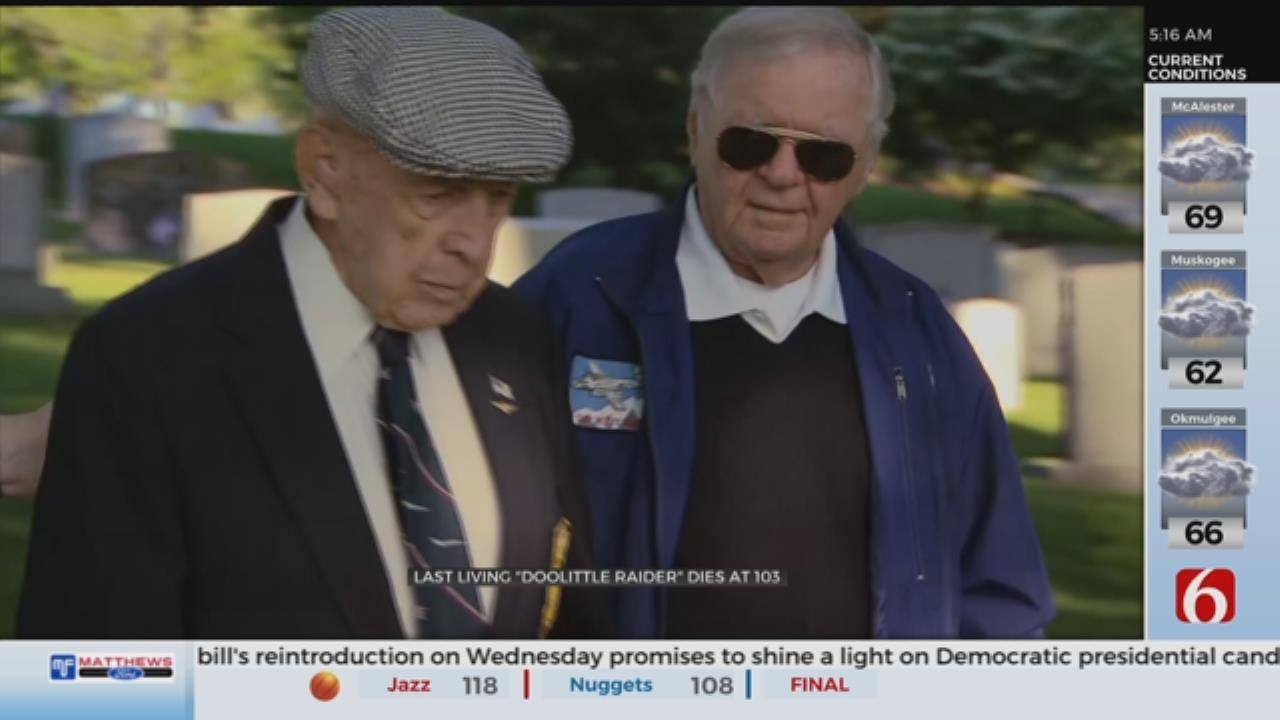 Richard Cole, Last WWII Doolittle Raider, Dies In Texas