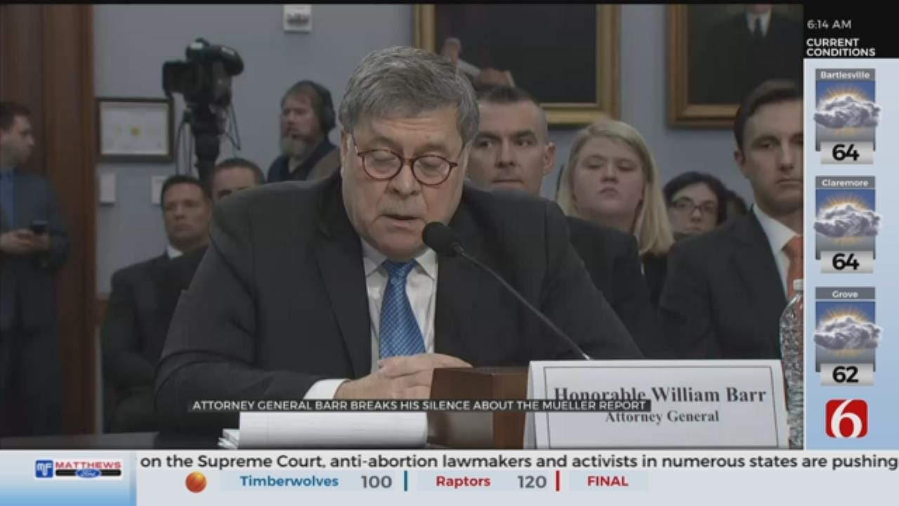 Redacted Mueller Report Coming 'Within A Week,' Barr Says