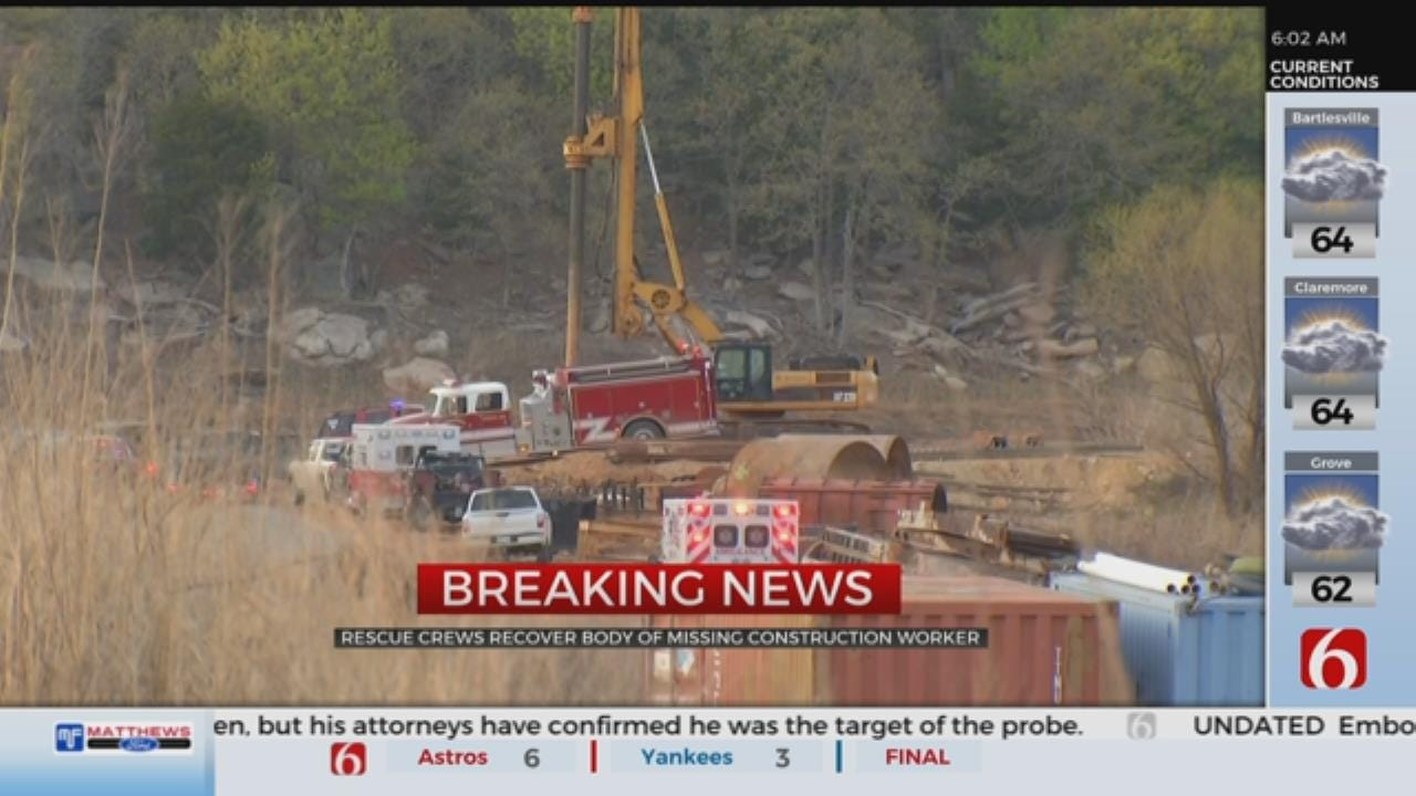 OHP Identifies Body Of Missing Construction Worker