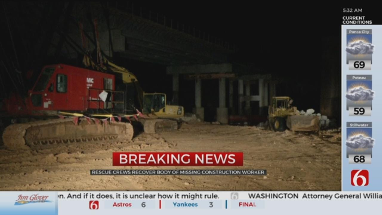 Body Of Missing Construction Worker Found, OHP Says