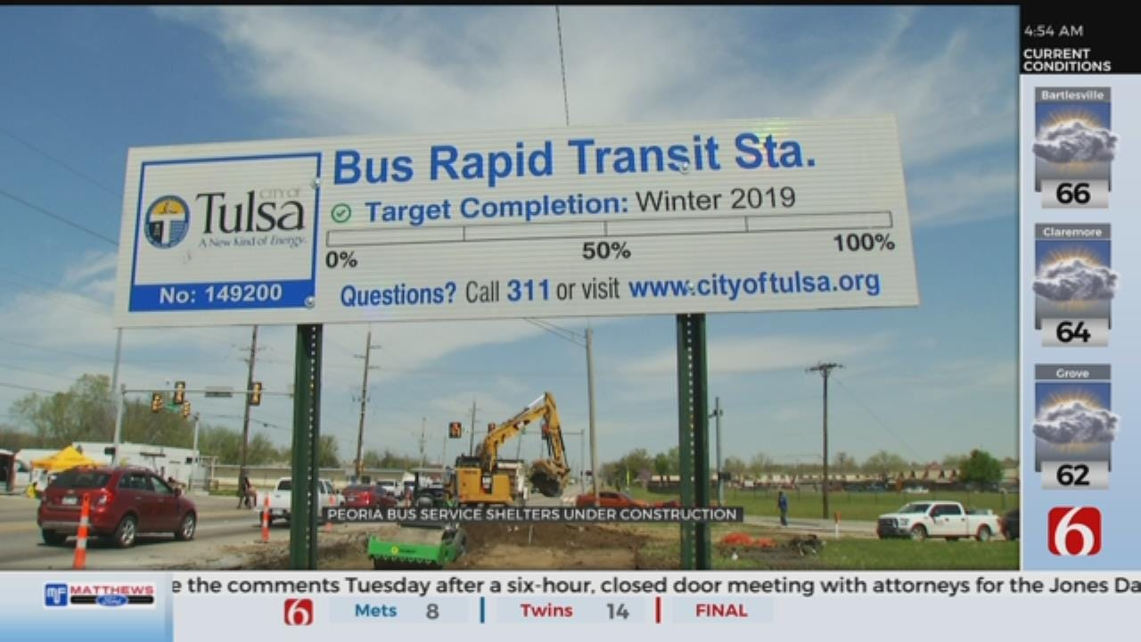 Tulsa To Launch New Rapid Bus Service