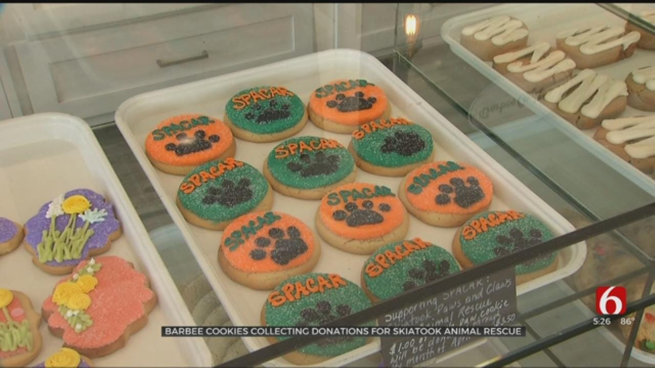 Tulsa Bakery Helps Animals By Selling Cookies
