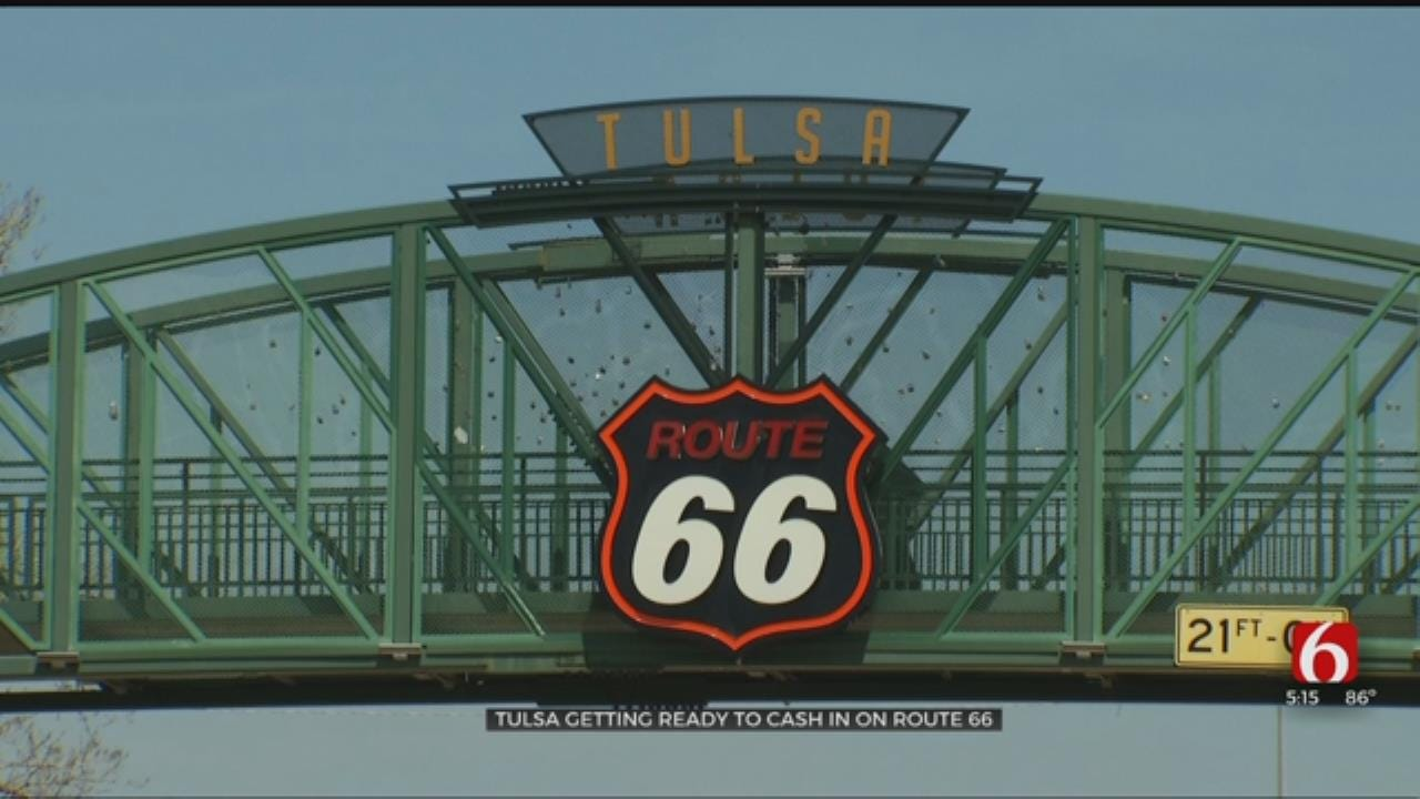 Tulsa Gets Ready To Cash In On Route 66