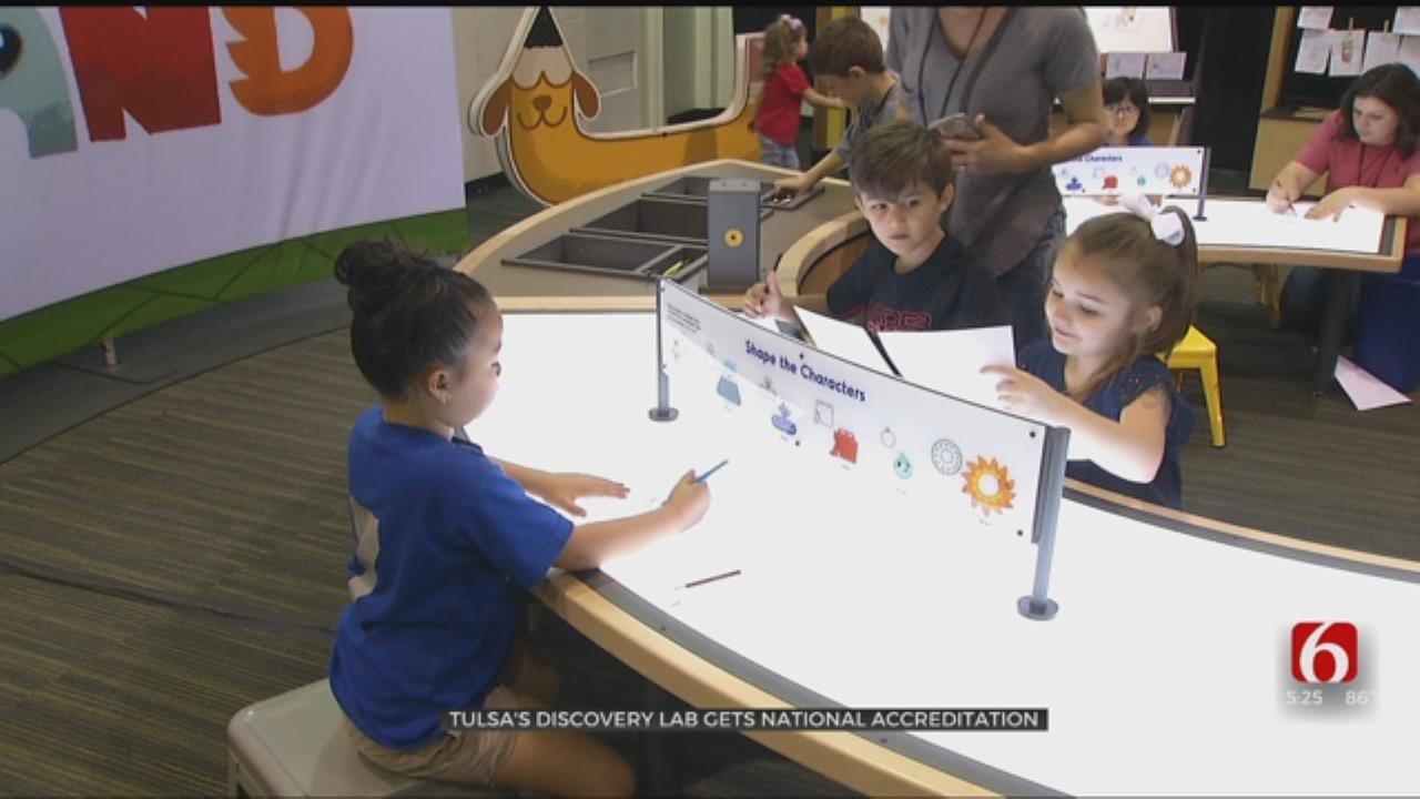 Tulsa Children's Museum Receives National Certification