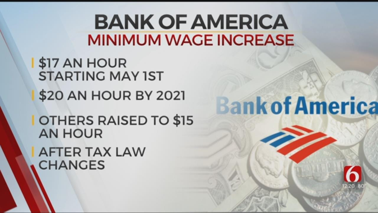 Bank Of America Raises Their Minimum Wage To $17