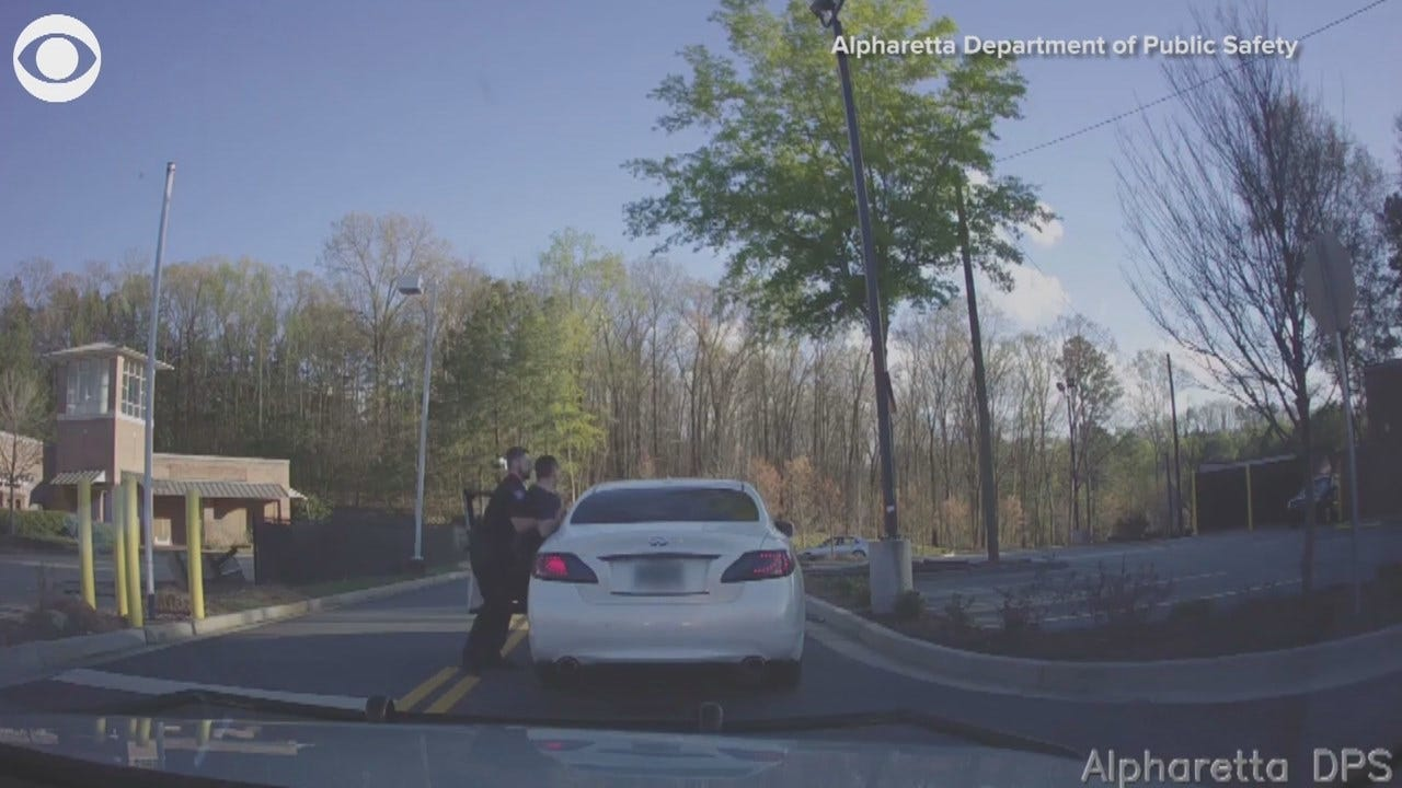 WATCH: Georgia Officer Dragged During Traffic Stop