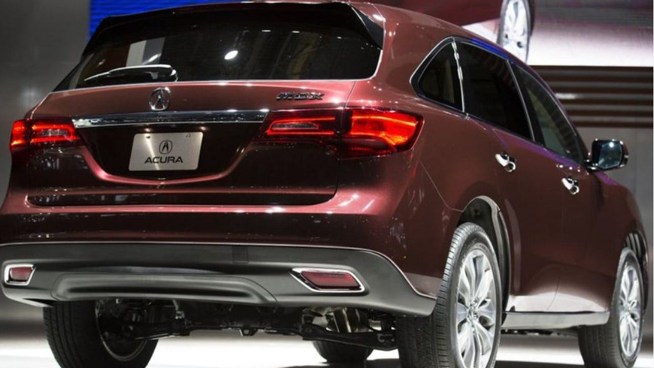 Acura Recalls 360K SUVs
