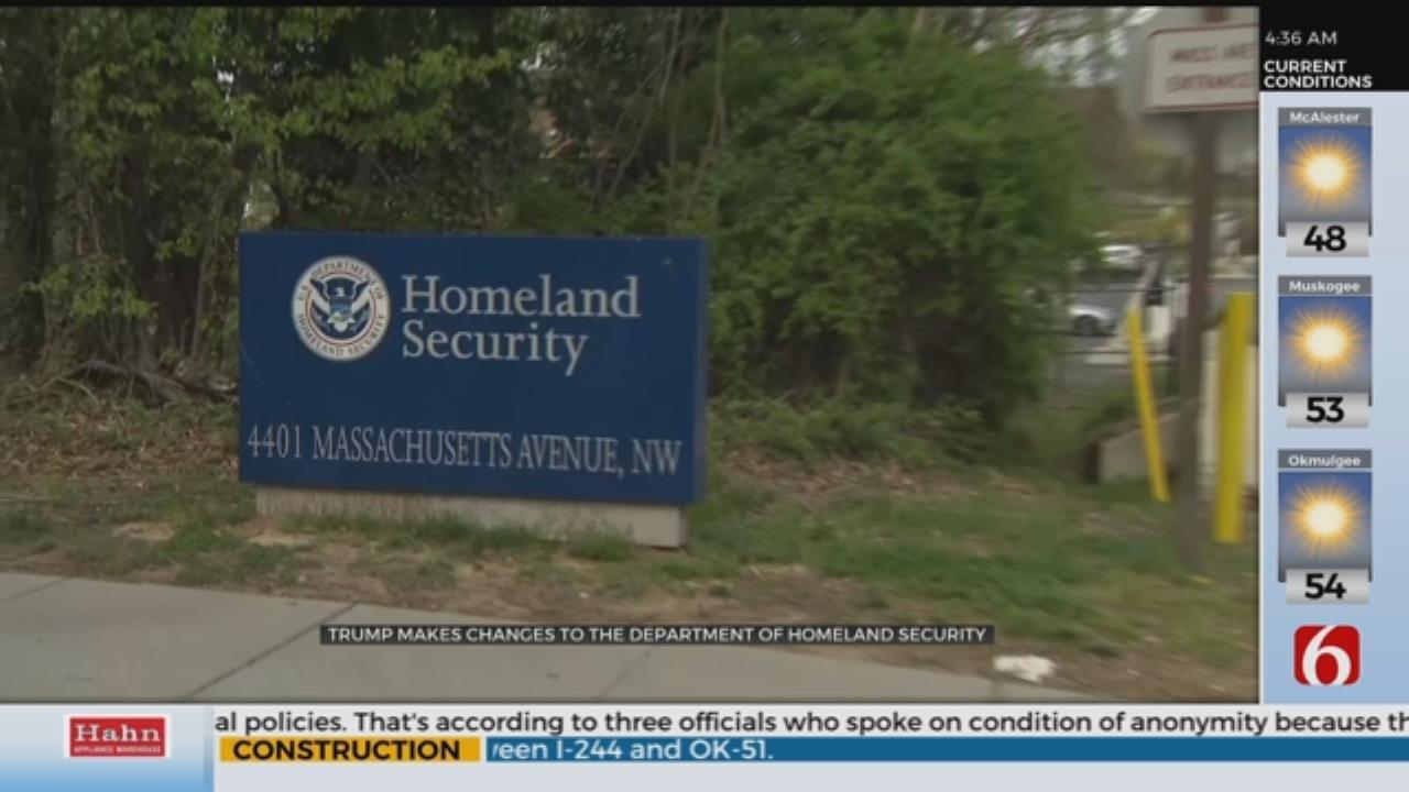 Secret Service Director, Other Homeland Security Officials Leaving In Overhaul