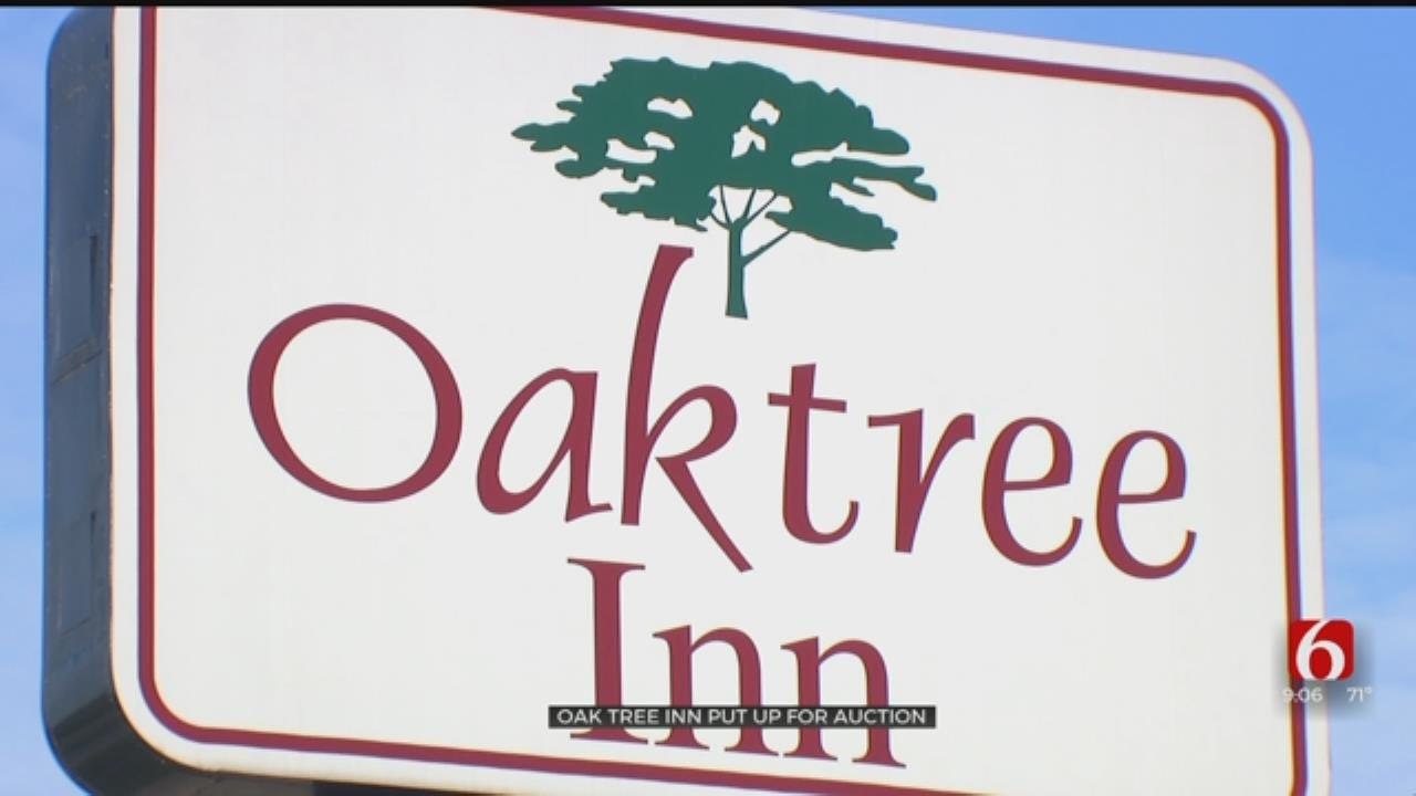 HIGH CRIME MOTELS: Oak Tree Inn Put For Auction
