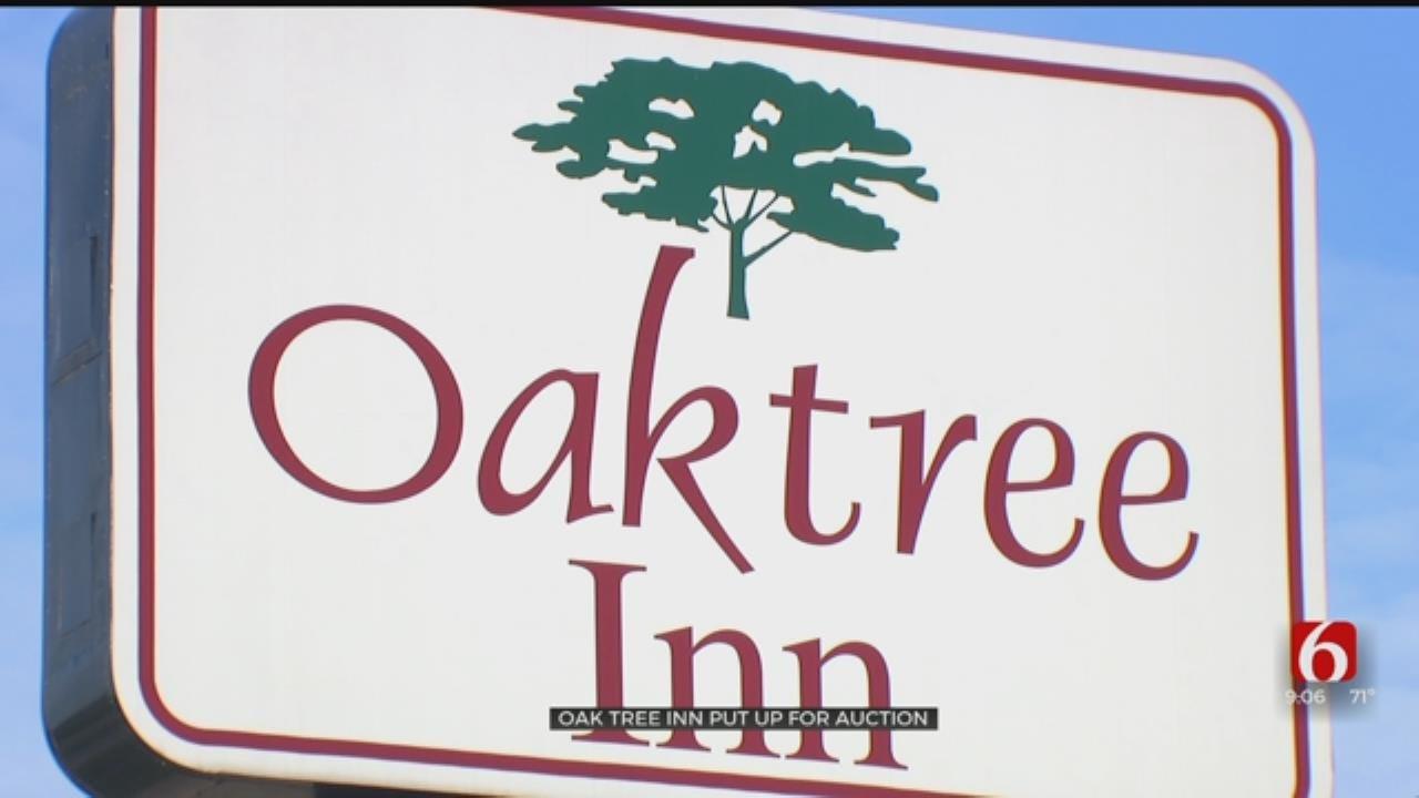 HIGH CRIME MOTELS: Oak Tree Inn Put For Auction