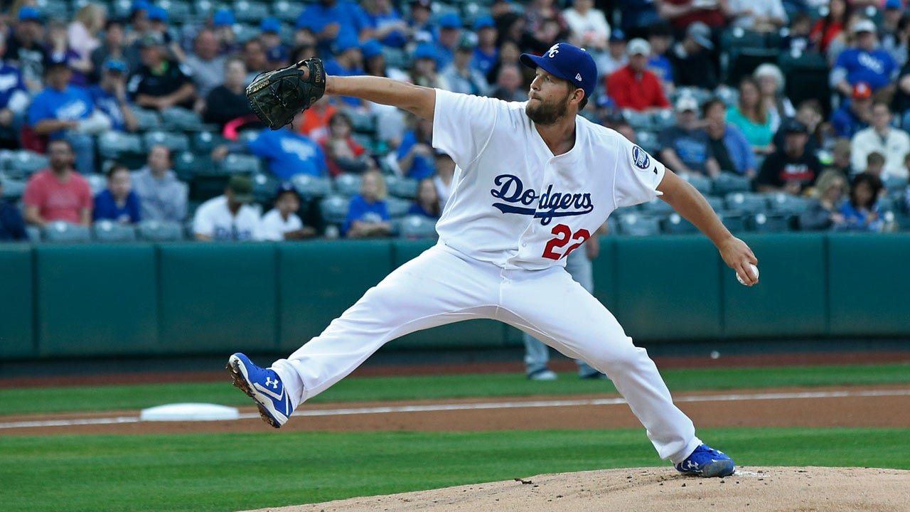 LA Dodgers' Kershaw To Pitch For Drillers