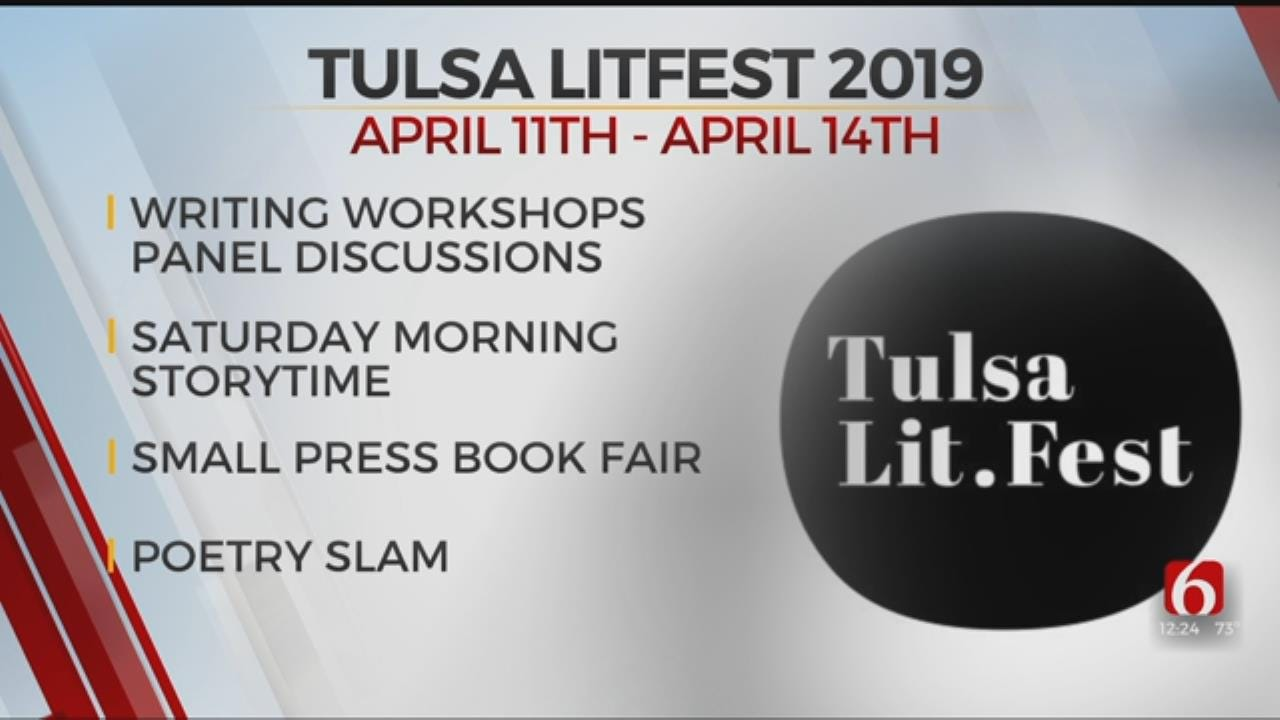 Tulsa's LitFest To Celebrate The Written Word