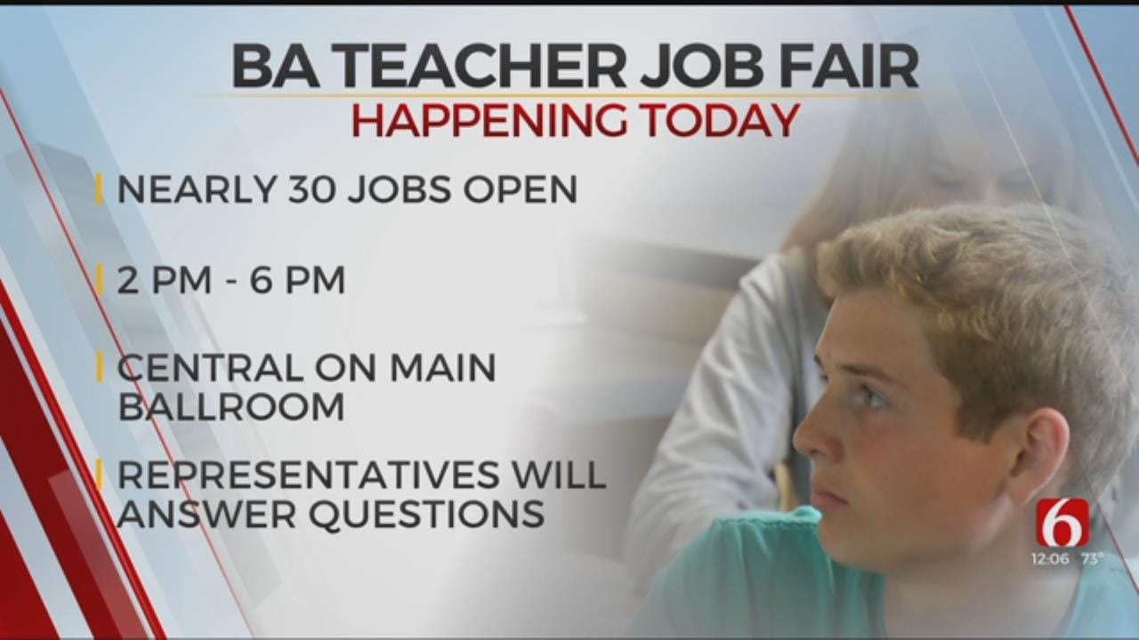 Broken Arrow Public Schools Hosts Job Fair