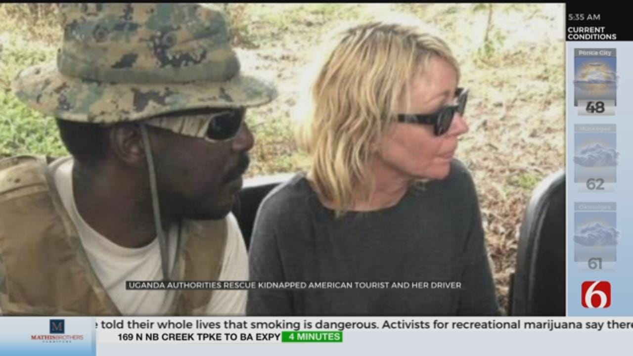 American, Driver Kidnapped In Uganda Rescued Unharmed