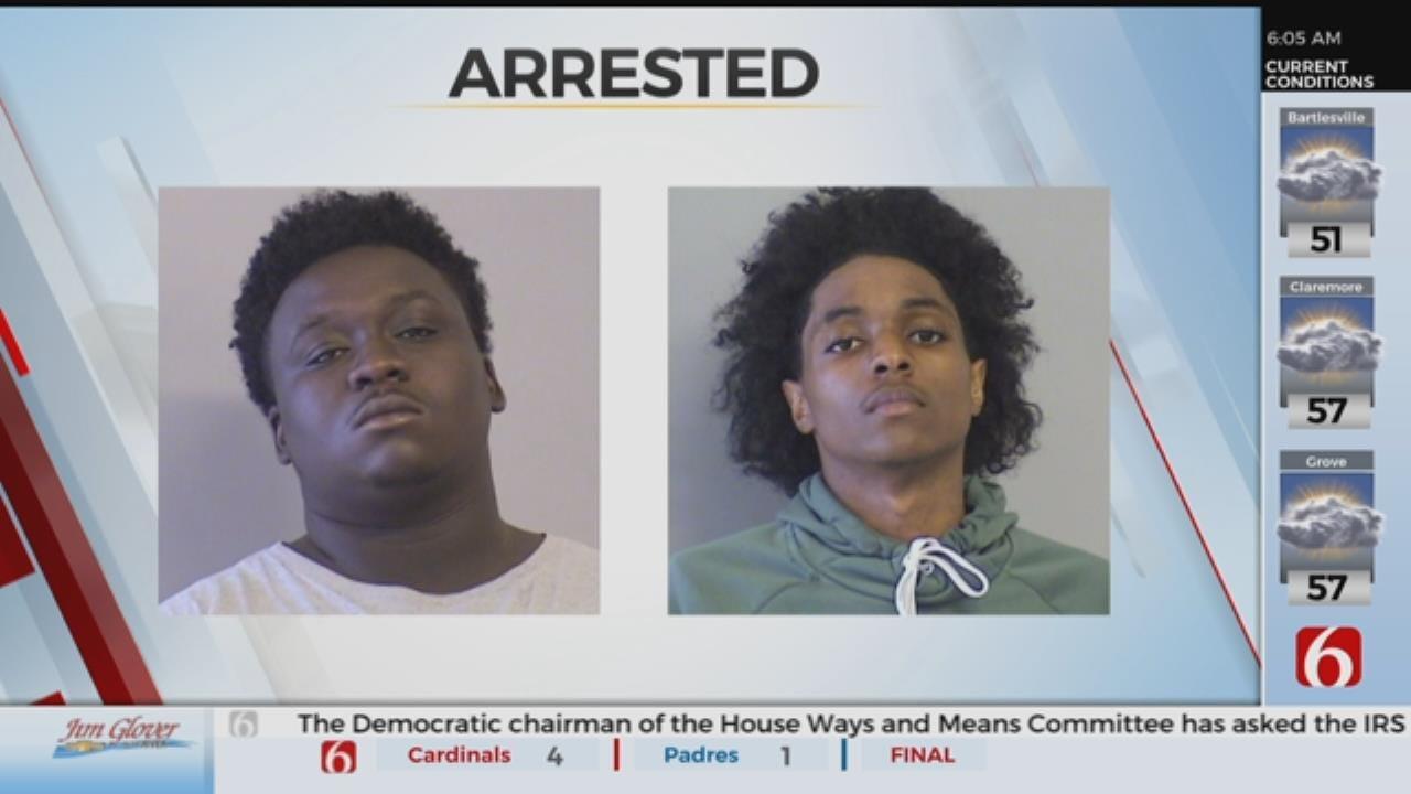 2 Men Arrested After Car Break-Ins At Tulsa Hotel