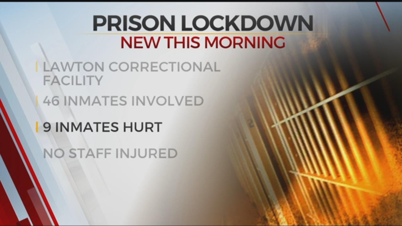 Lawton Prison On Lockdown After Inmate Fight