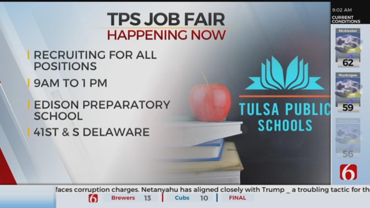TPS Holds Job Fair At Edison Preparatory School