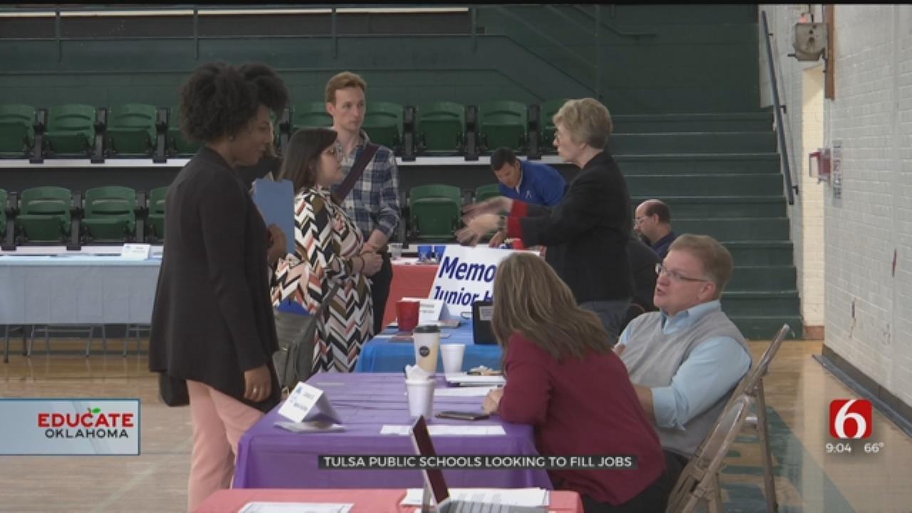 Educators Attend Tulsa Public Schools Career Fair