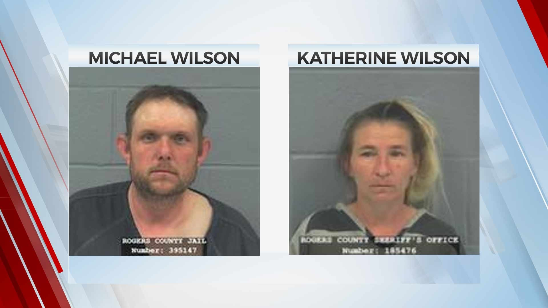 Inola Couple Accused Of Felony Child Neglect Of Toddler Granddaughter