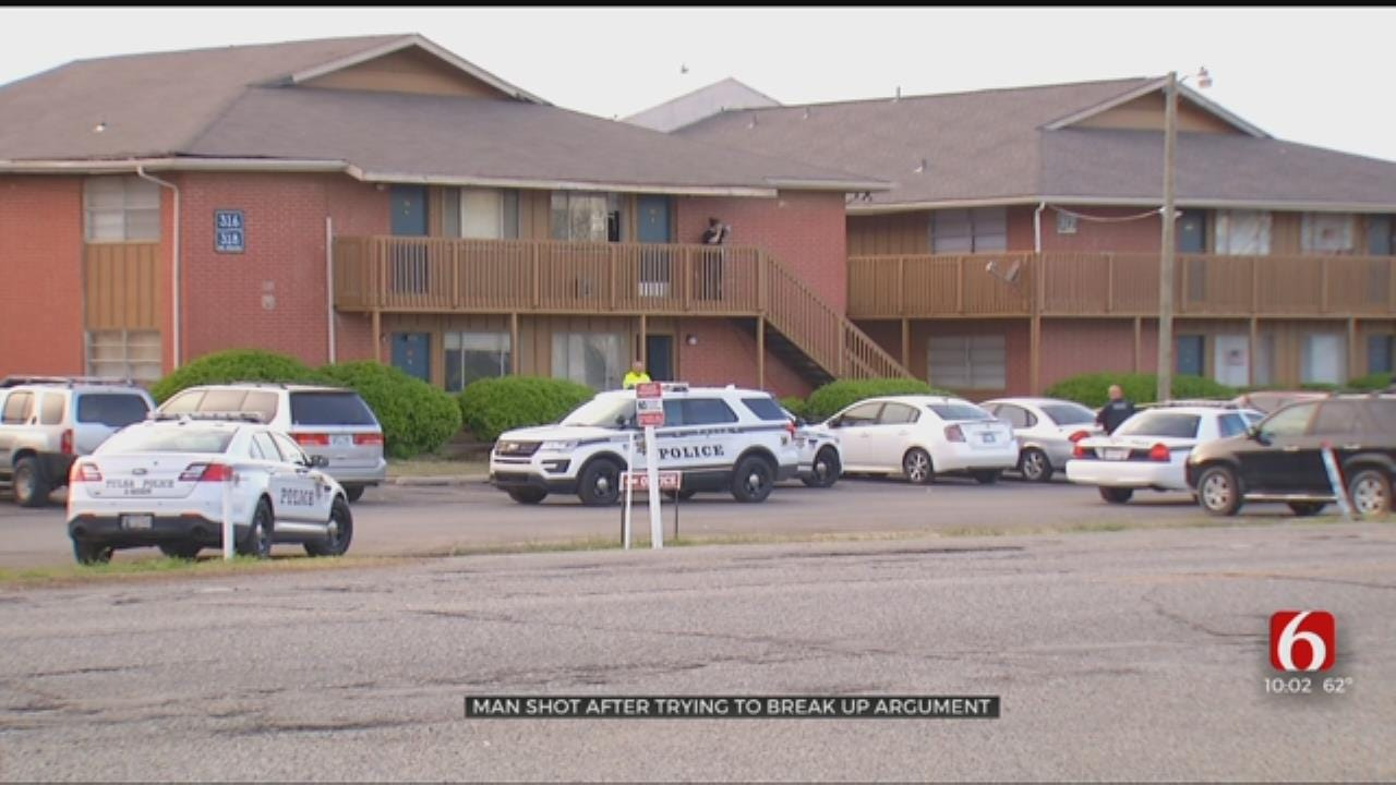 Tulsa Man Wounded Trying To Stop Fight At Apartment Complex