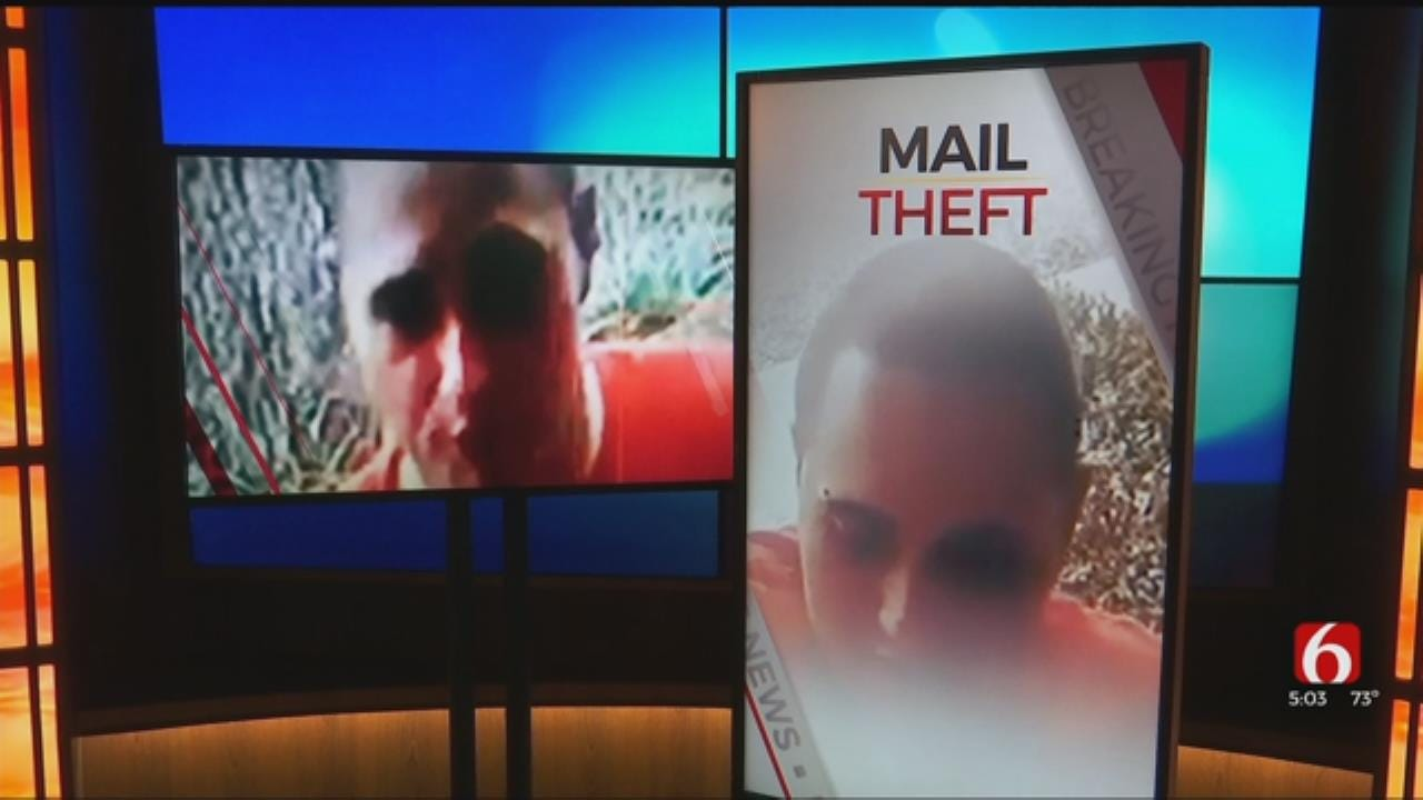Tulsa Police Search For Suspected Mail Thief