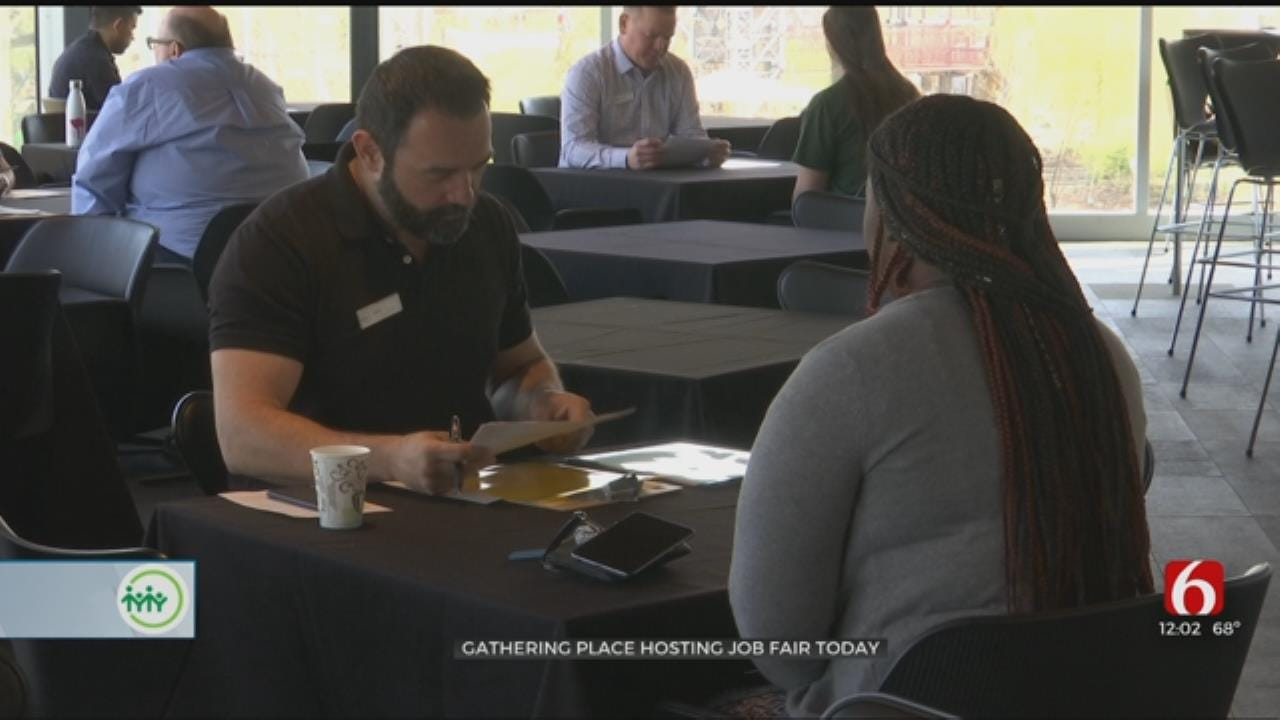 Gathering Place Holds Hiring Event