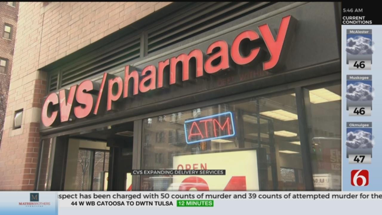 6,000 CVS Locations Now Offering Delivery