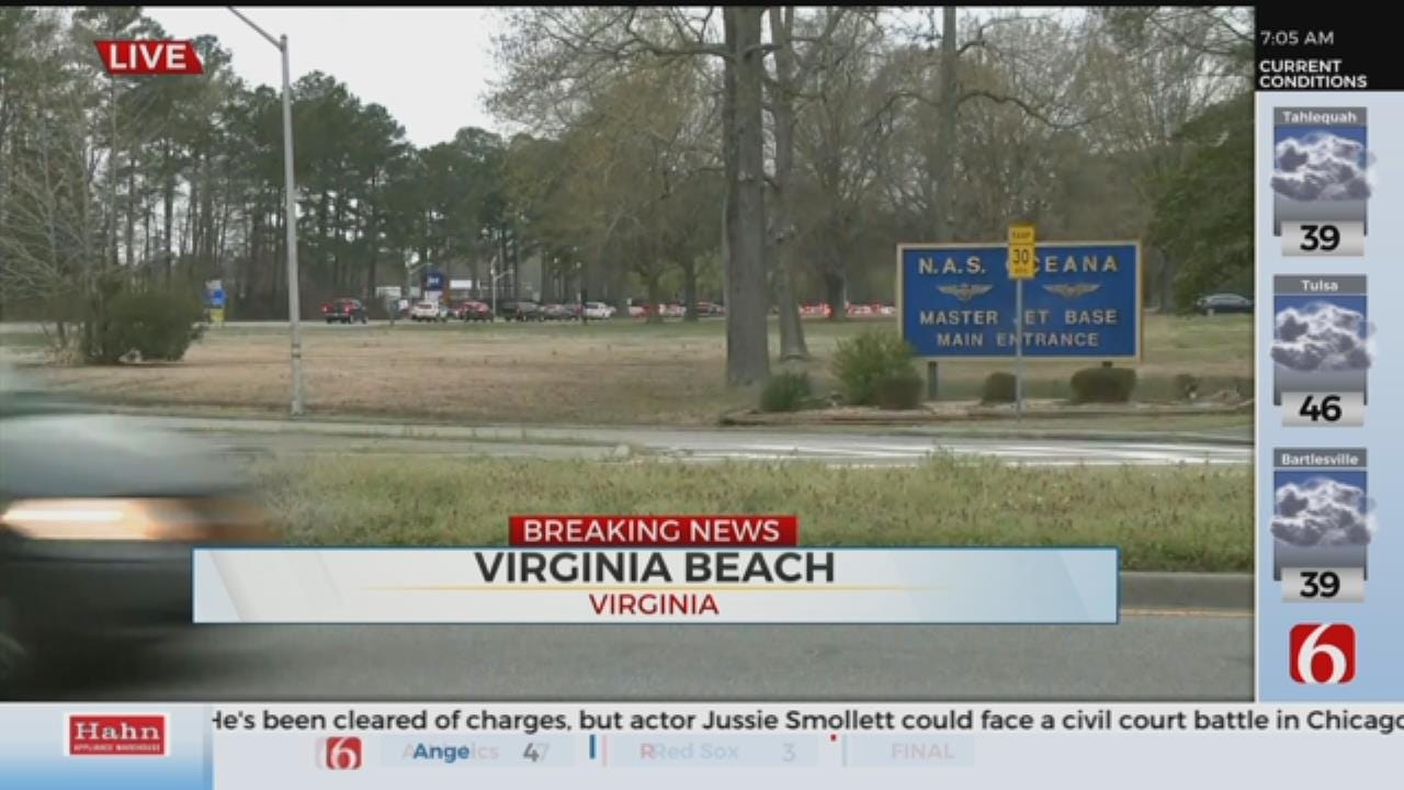 Virginia Naval Air Station Went on Lockdown Due To Active Shooter