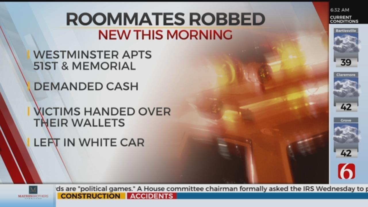 Roommates Robbed At Gunpoint At Tulsa Apartment Complex