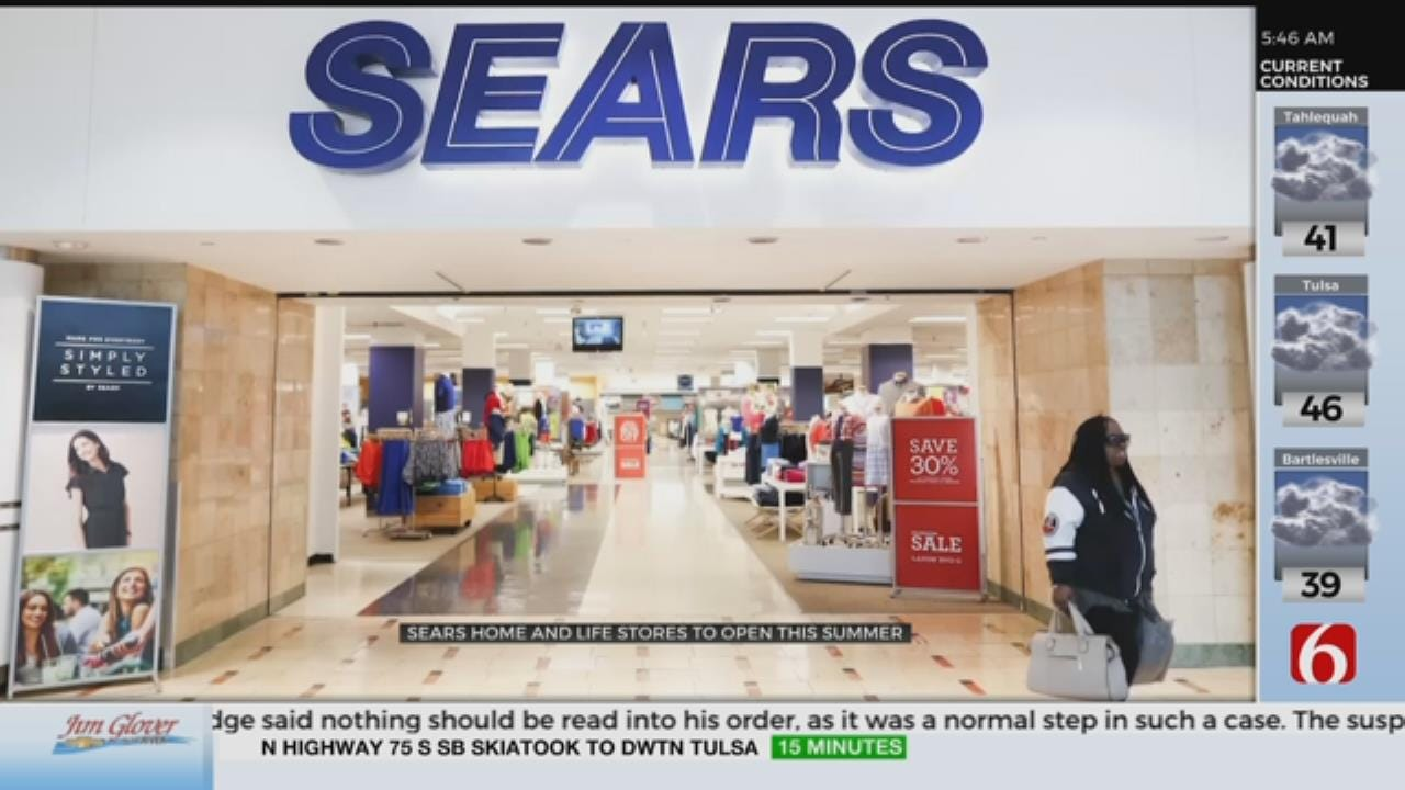 Sears Set To Open First New Smaller-Format Stores