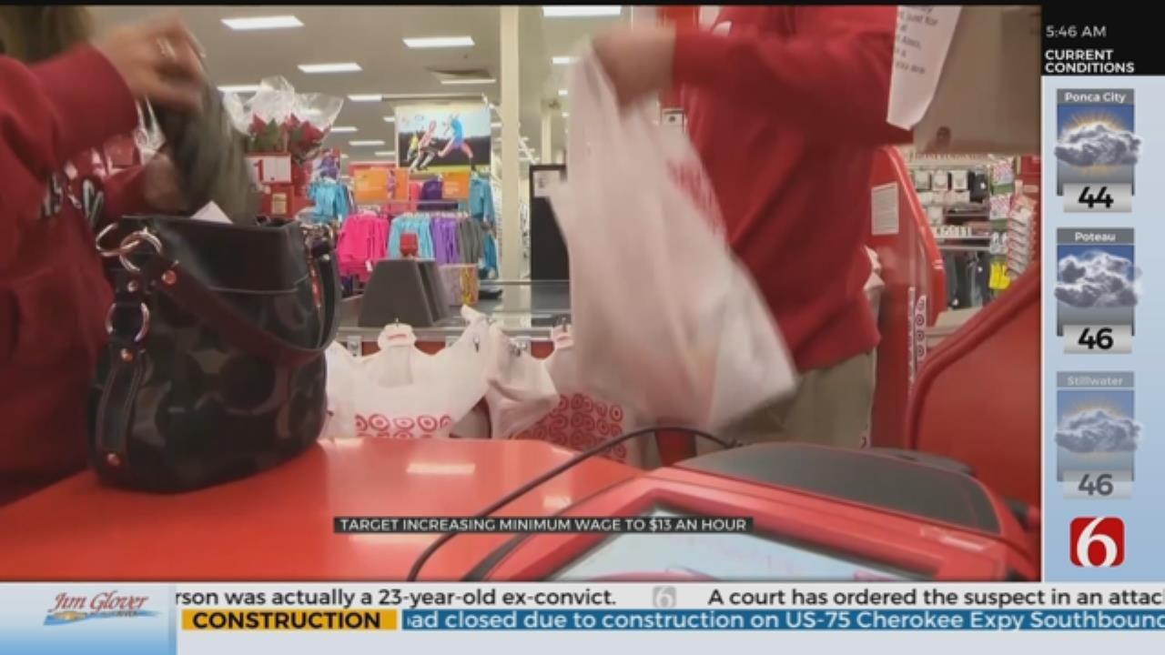 Target Increases Its Minimum Wage